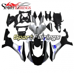 Fairing Kit Fit For Yamaha YZF R1 2015 2016 2017 2018 - Silver Blue and Black