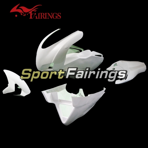 Unpainted Fiberglass Racing Fairing Kit Fit For Dacati 999 749 Bodywork Naked