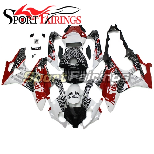 Fairing Kit Fit For BMW S1000RR 2011 - 2014 - Red White